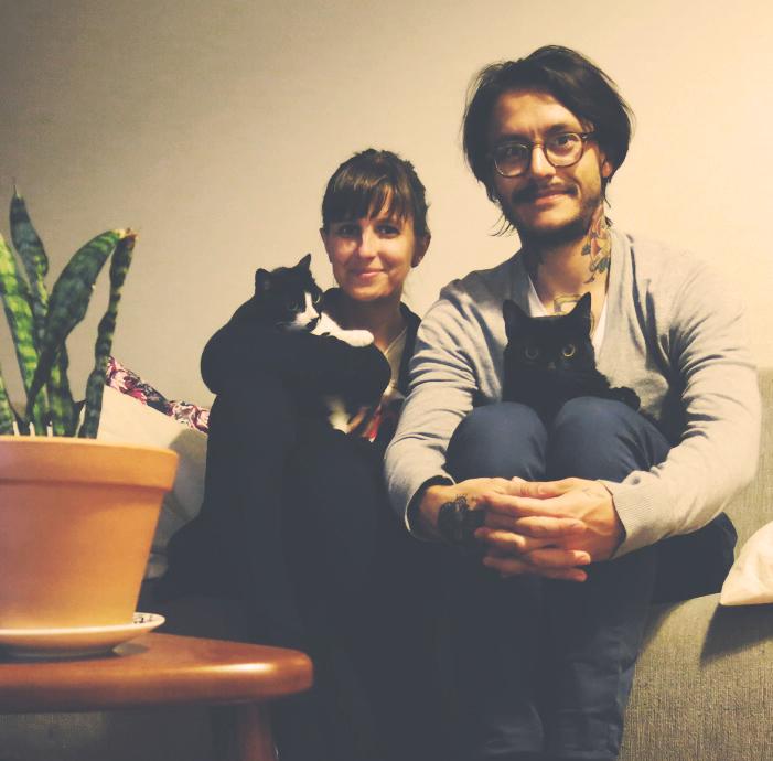 Fran e Panqueca & Diego e Coruja